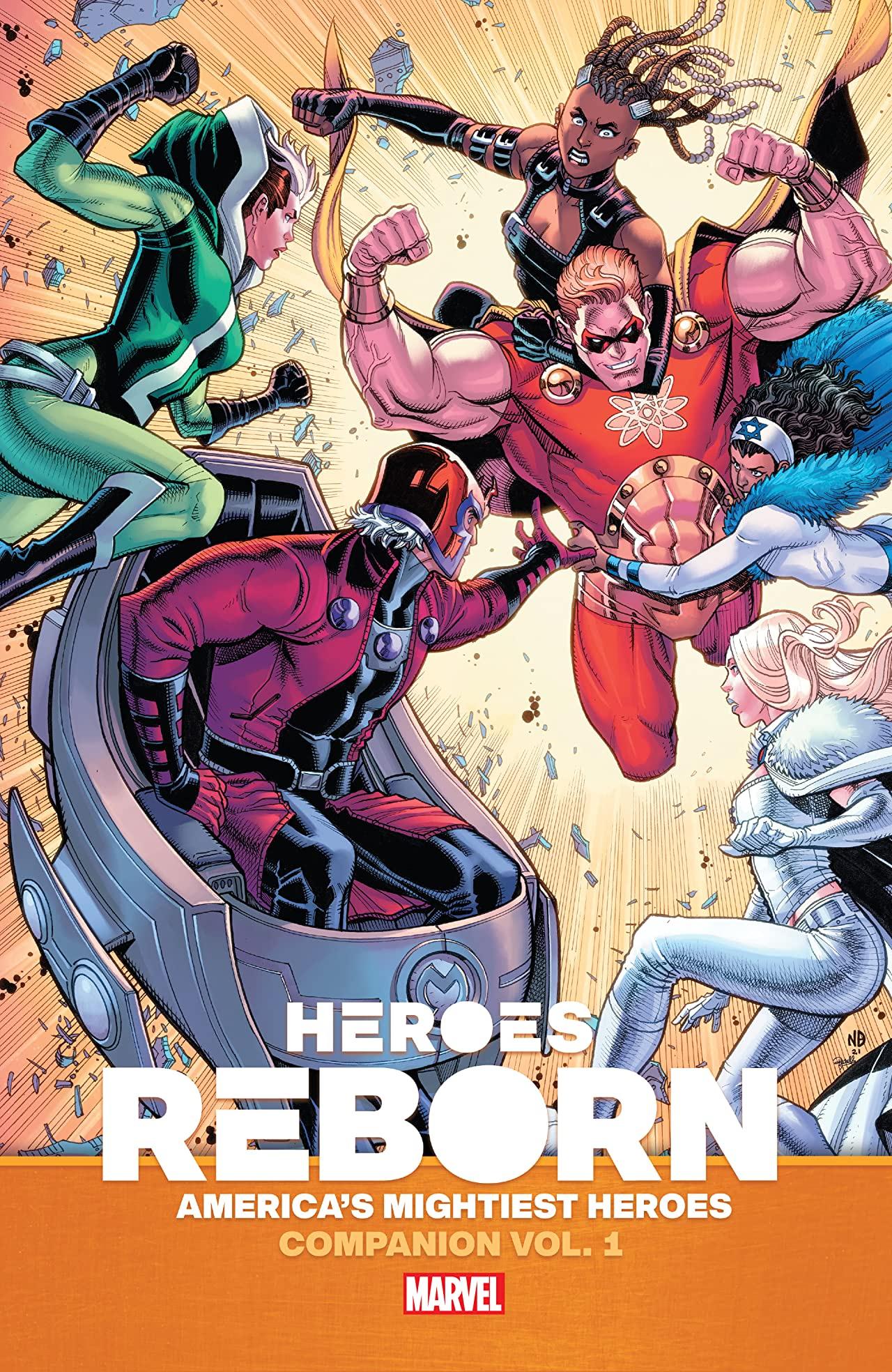 Heroes Reborn: America's Mightiest Heroes Companion Vol. 1 (Trade Paperback)