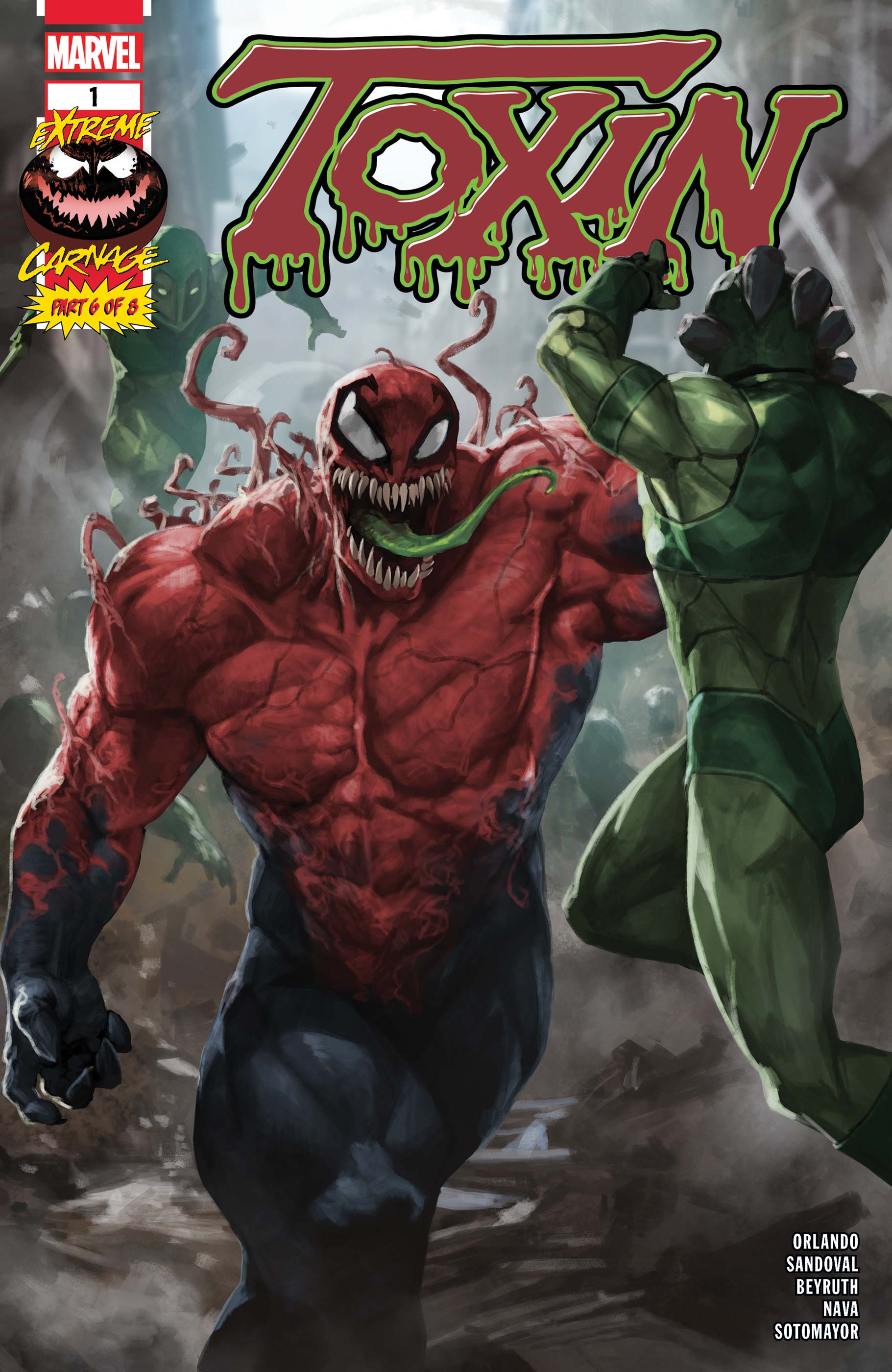 Extreme Carnage: Toxin (2021) #1
