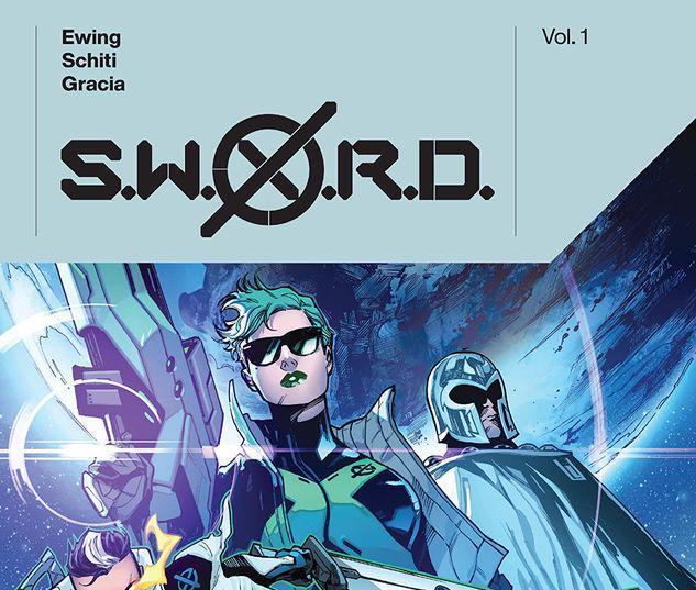 S.W.O.R.D. BY AL EWING VOL. 1 TPB #1