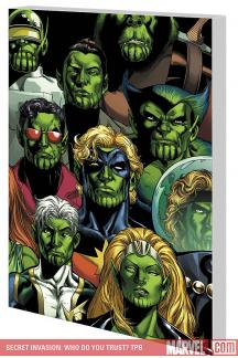 Secret Invasion: Who Do You Trust? (Trade Paperback)