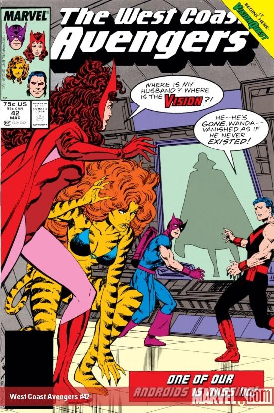 West Coast Avengers (1985) #42
