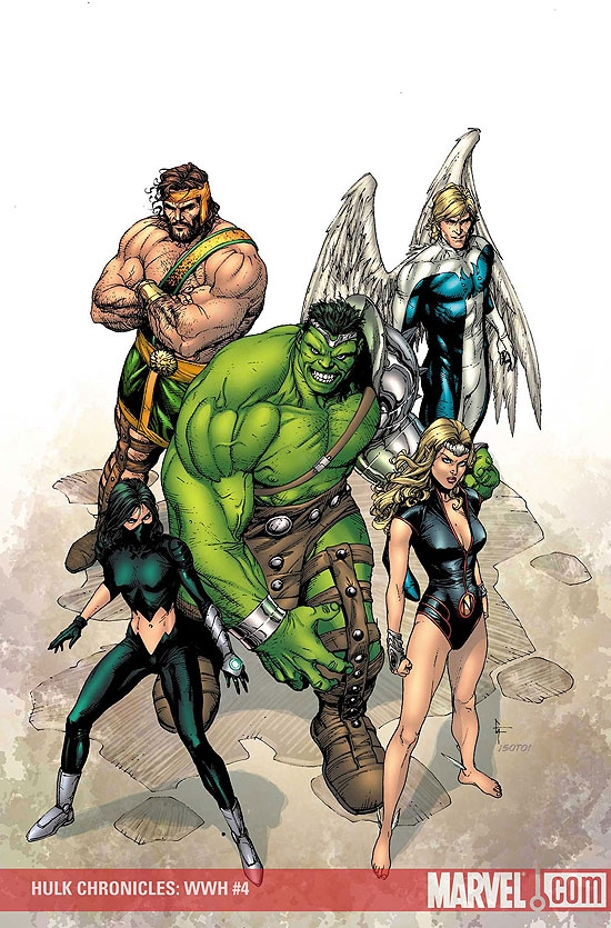 Hulk Chronicles: Wwh (2008) #4