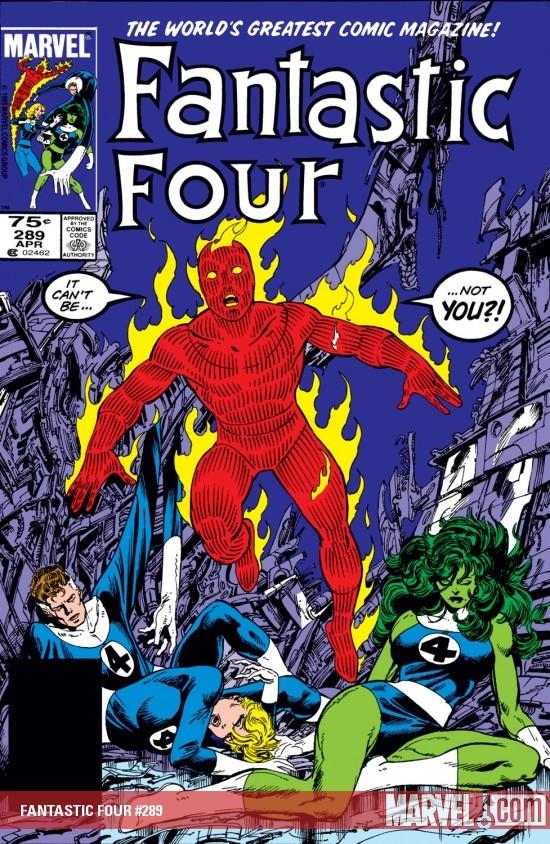 Fantastic Four (1961) #289