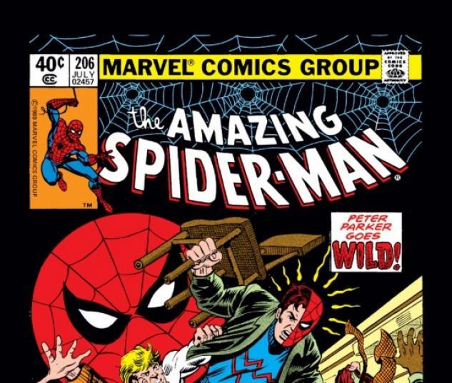 AMAZING SPIDER-MAN (2008) #206 COVER