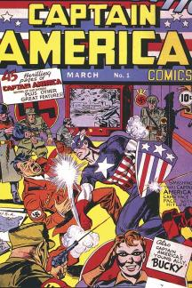 Marvel Masterworks: Golden Age Captain America Vol. 1 (Hardcover)