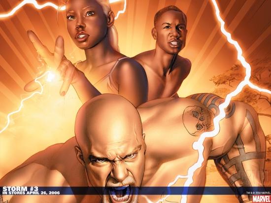 Storm (2006) #3 Wallpaper
