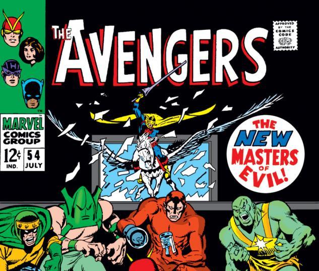 Avengers (1963) #54 cover