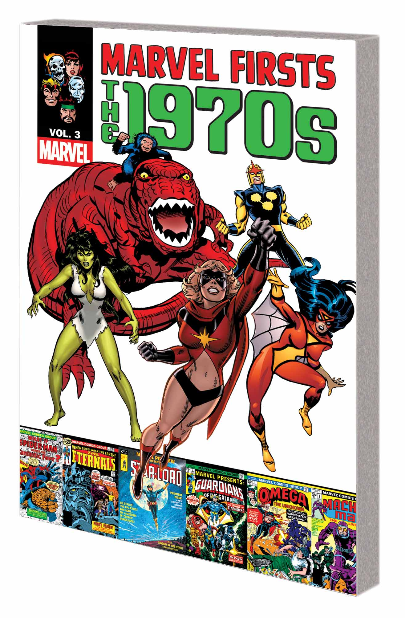 MARVEL FIRSTS: THE 1970s VOL. 3 TPB (Trade Paperback)