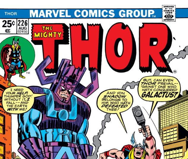 Thor (1966) #226 Cover