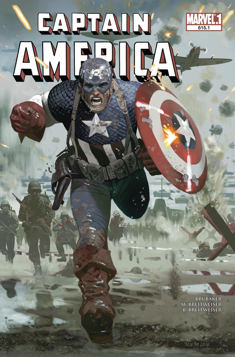 Captain America (2004) #615.1