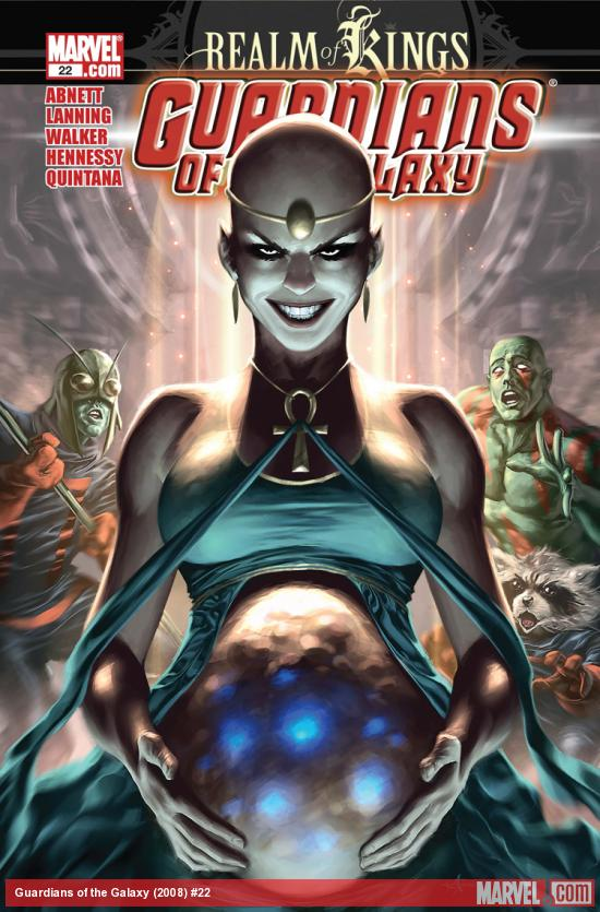 Guardians of the Galaxy (2008) #22
