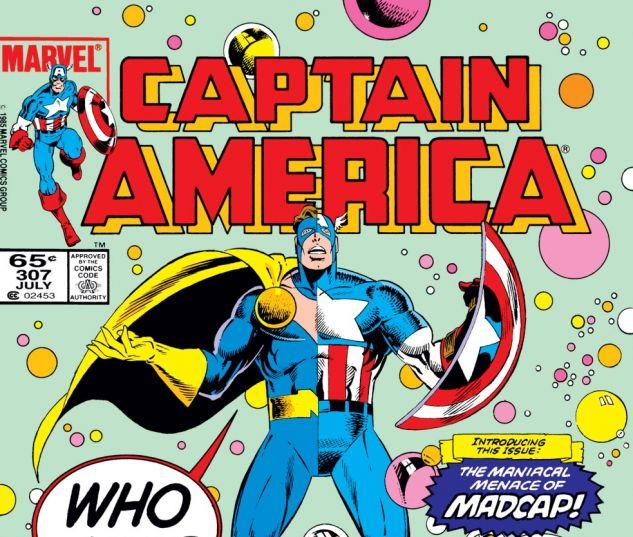 Captain America (1968) #307 Cover
