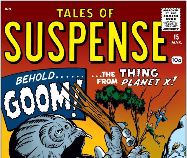 Tales of Suspense (1959) #15 Cover