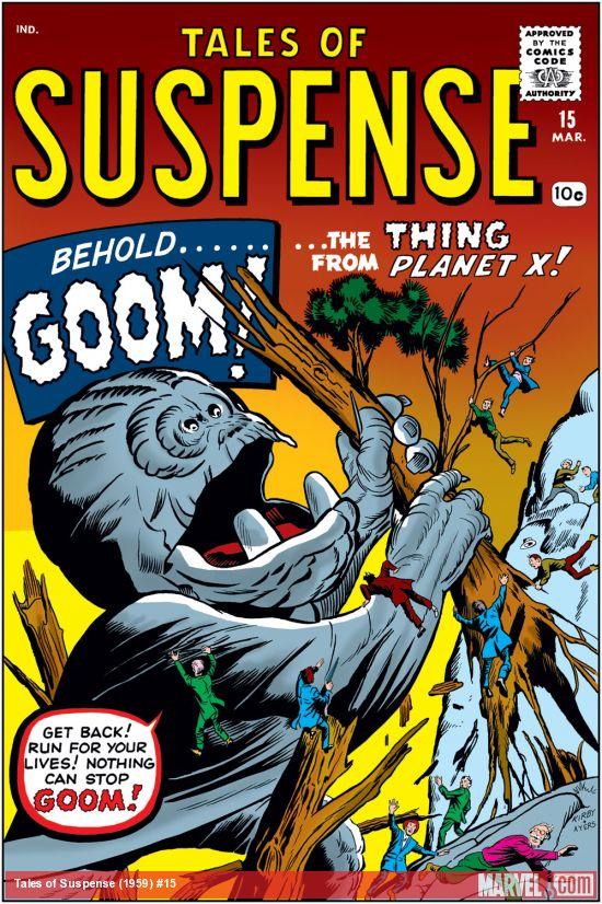 Tales of Suspense (1959) #15