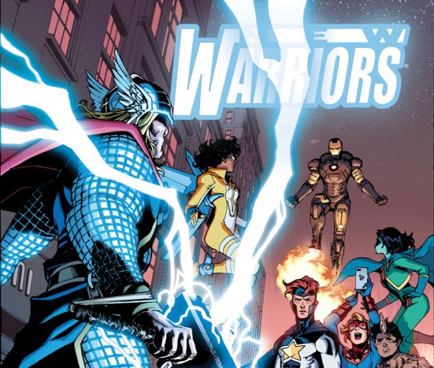 NEW WARRIORS 6 (ANMN, WITH DIGITAL CODE)