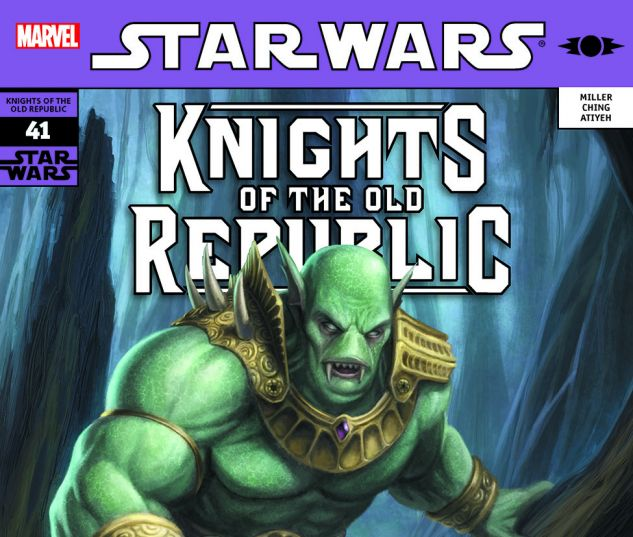 Star Wars: Knights Of The Old Republic (2006) #41