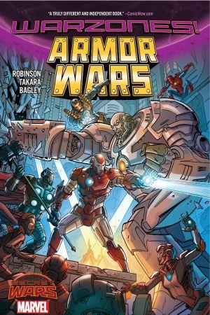 ARMOR WARS: WARZONES! TPB (Trade Paperback)
