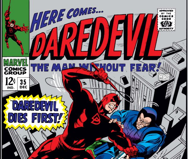 DAREDEVIL (1964) #35 Cover