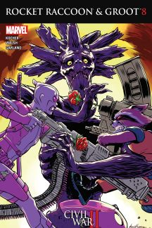Rocket Raccoon & Groot #8