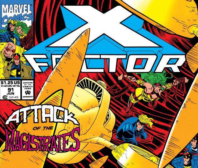 X-FACTOR (1986) #91