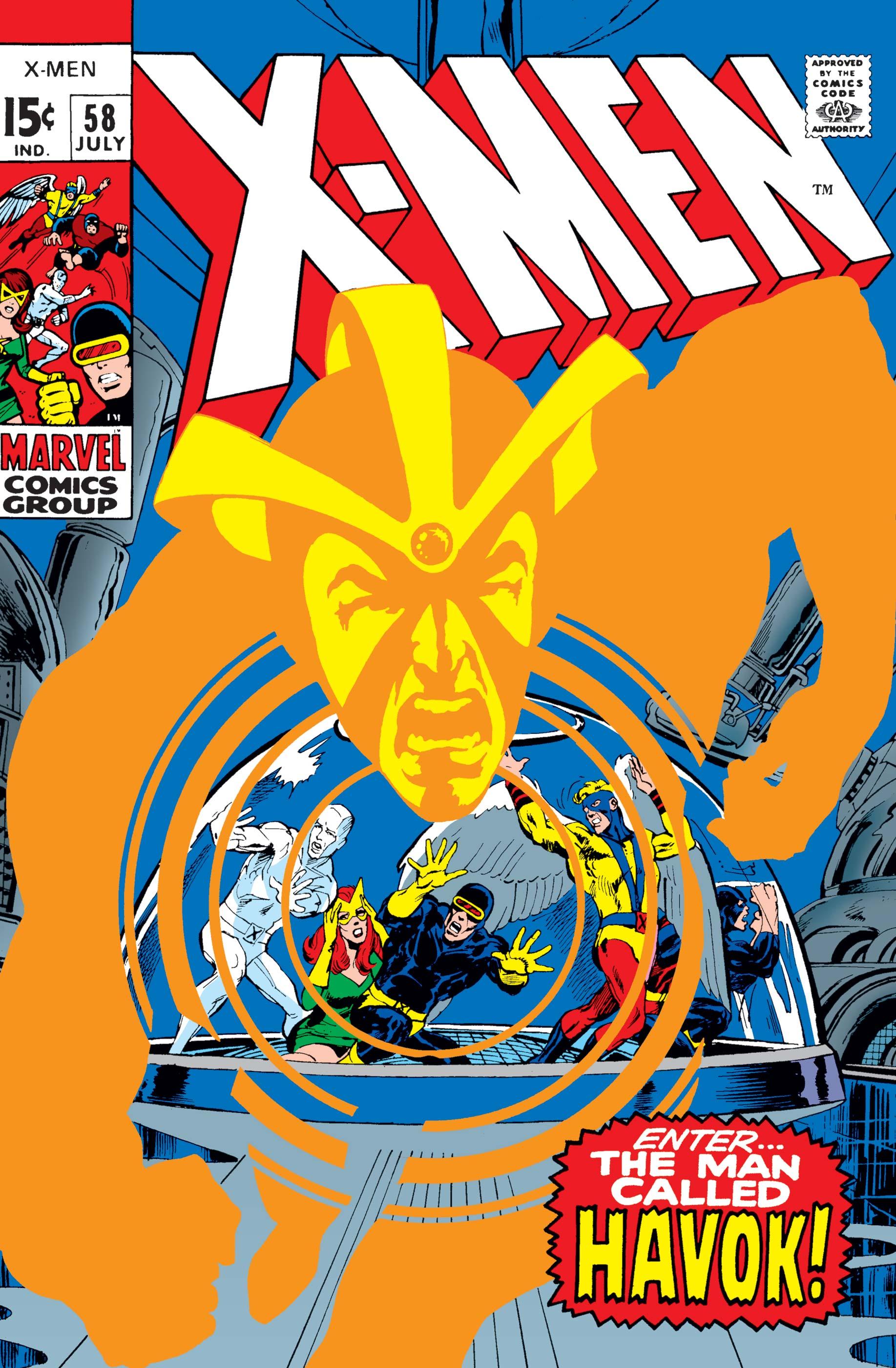 Uncanny X-Men (1963) #58