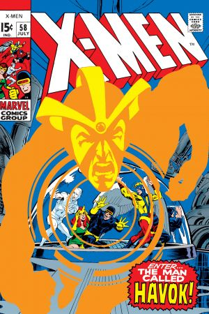 Uncanny X-Men #58