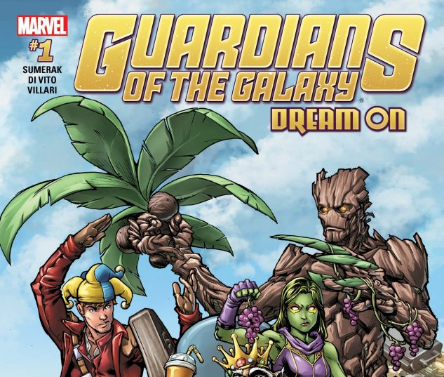 cover from Guardians of the Galaxy Vol. 2: TBD [Disney] (2017) #1