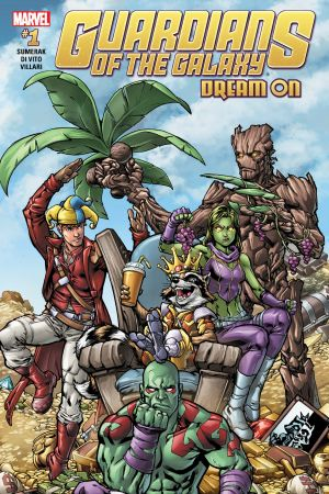 Guardians of the Galaxy: Dream On #1