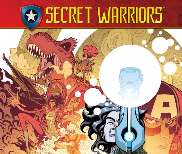 cover from Secret Warriors (2017) #1