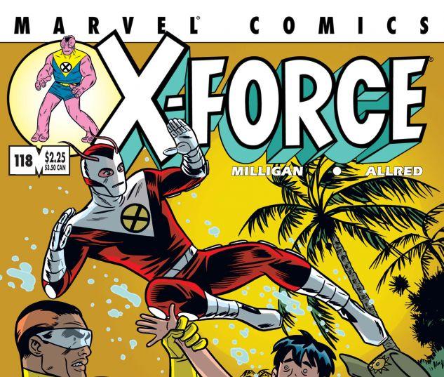 X-FORCE (1991) #118