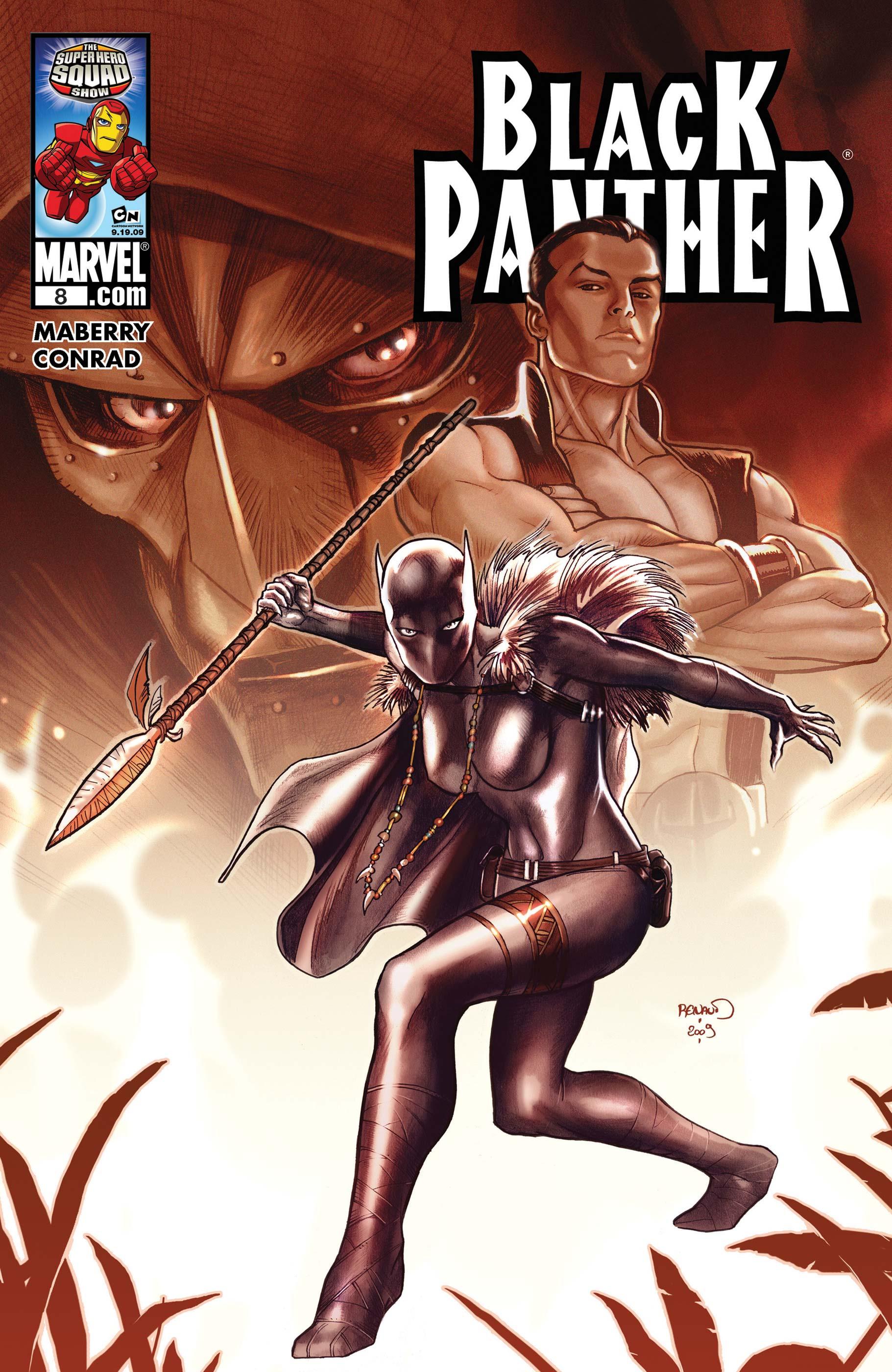 Black Panther (2009) #8