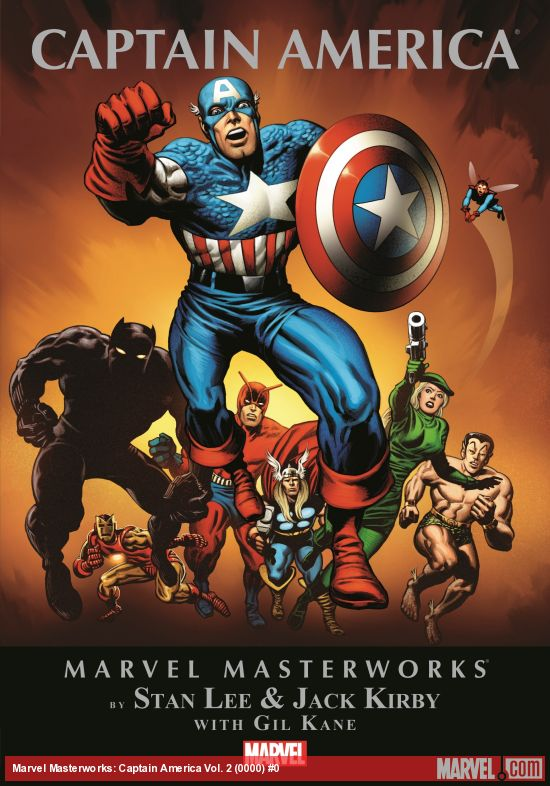 Marvel Masterworks: Captain America Vol. 2 (Hardcover)