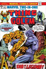 Marvel Two-in-One (1974) #11 cover
