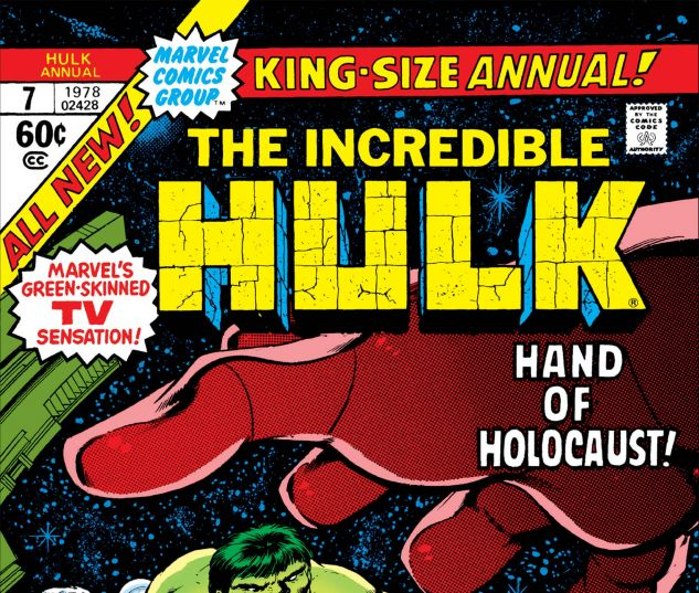 Cover to Incredible Hulk Annual 7