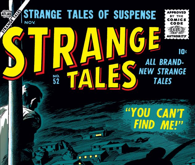Cover for Strange Tales 52