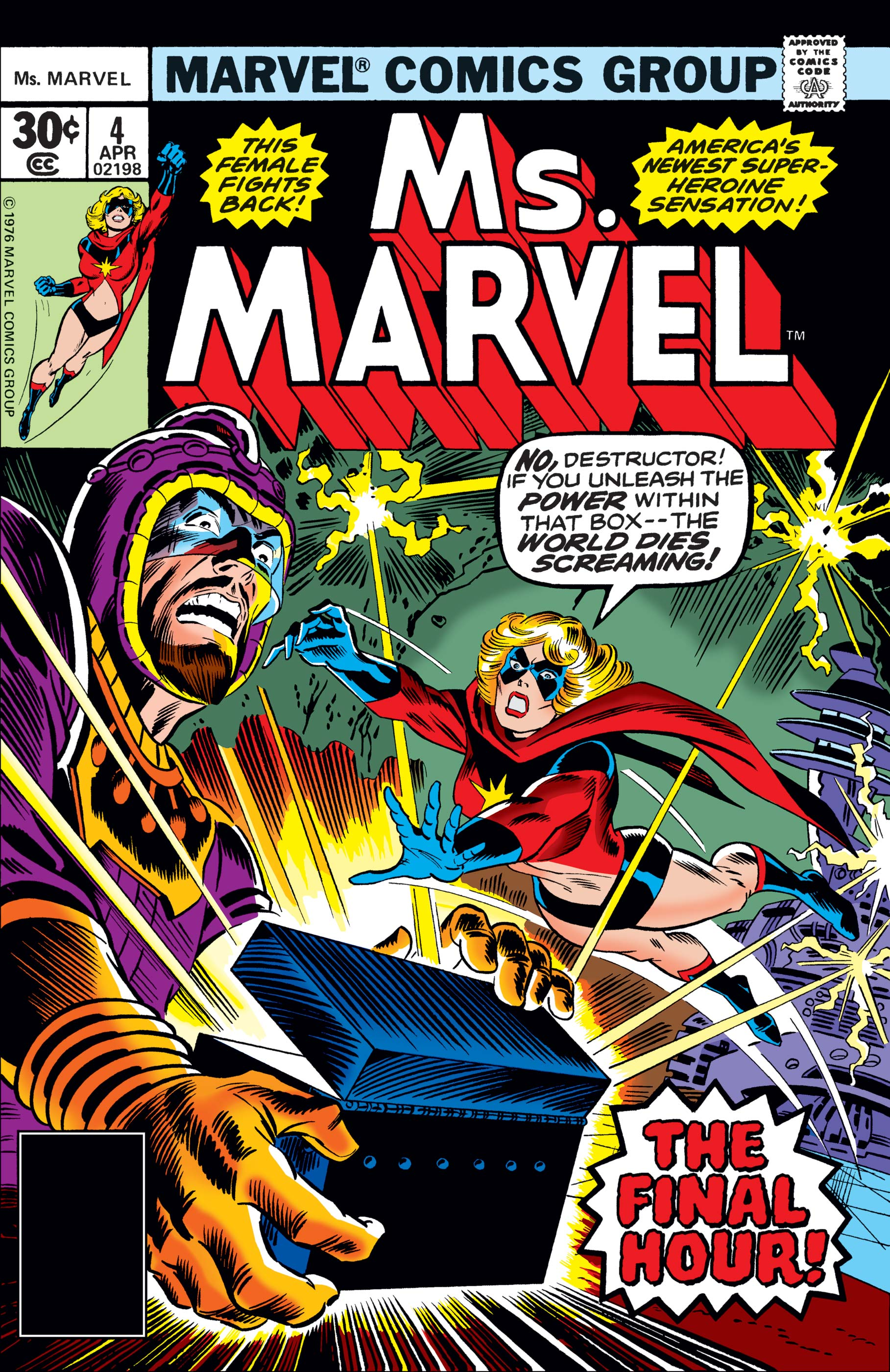 Ms. Marvel (1977) #4
