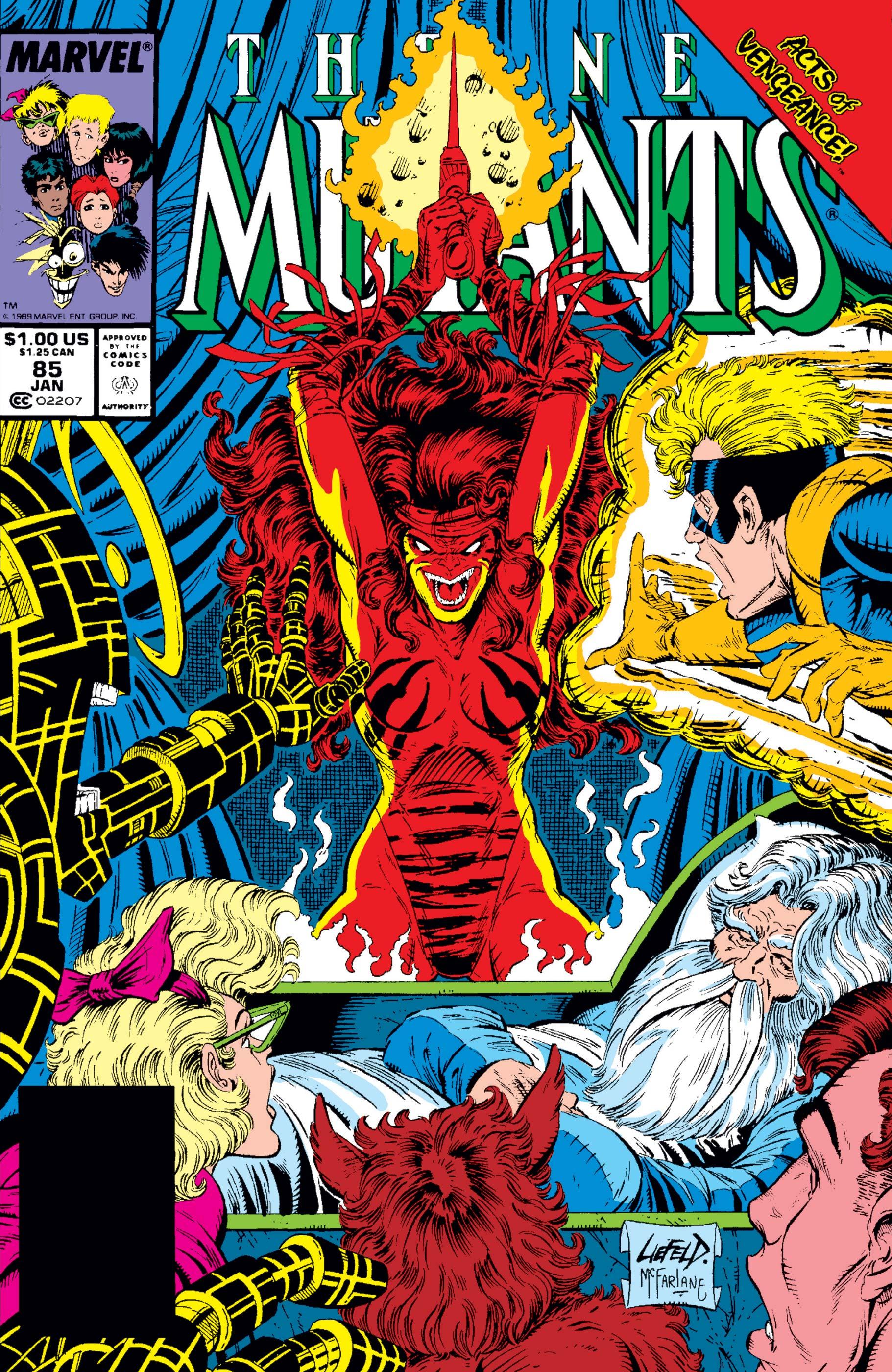 New Mutants (1983) #85