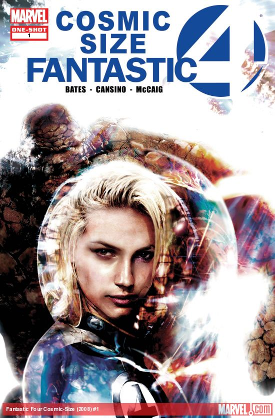 Fantastic Four Cosmic-Size (2008) #1