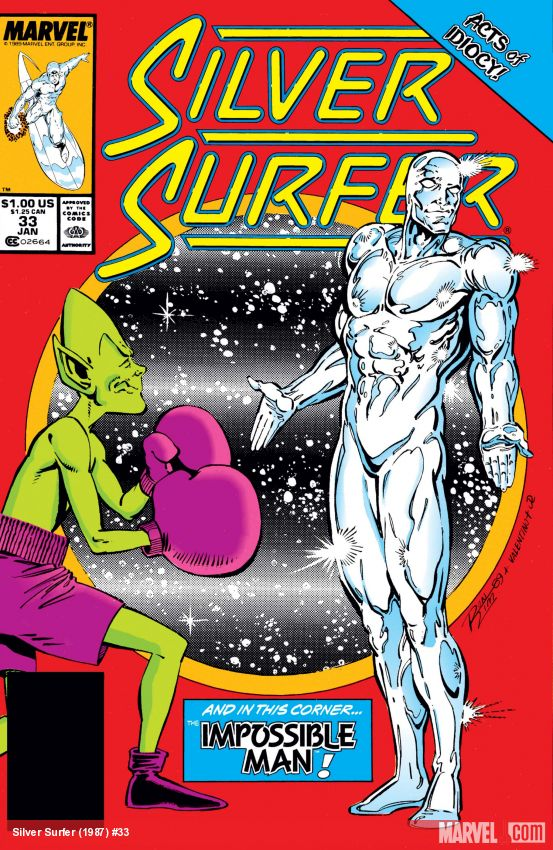 Silver Surfer (1987) #33