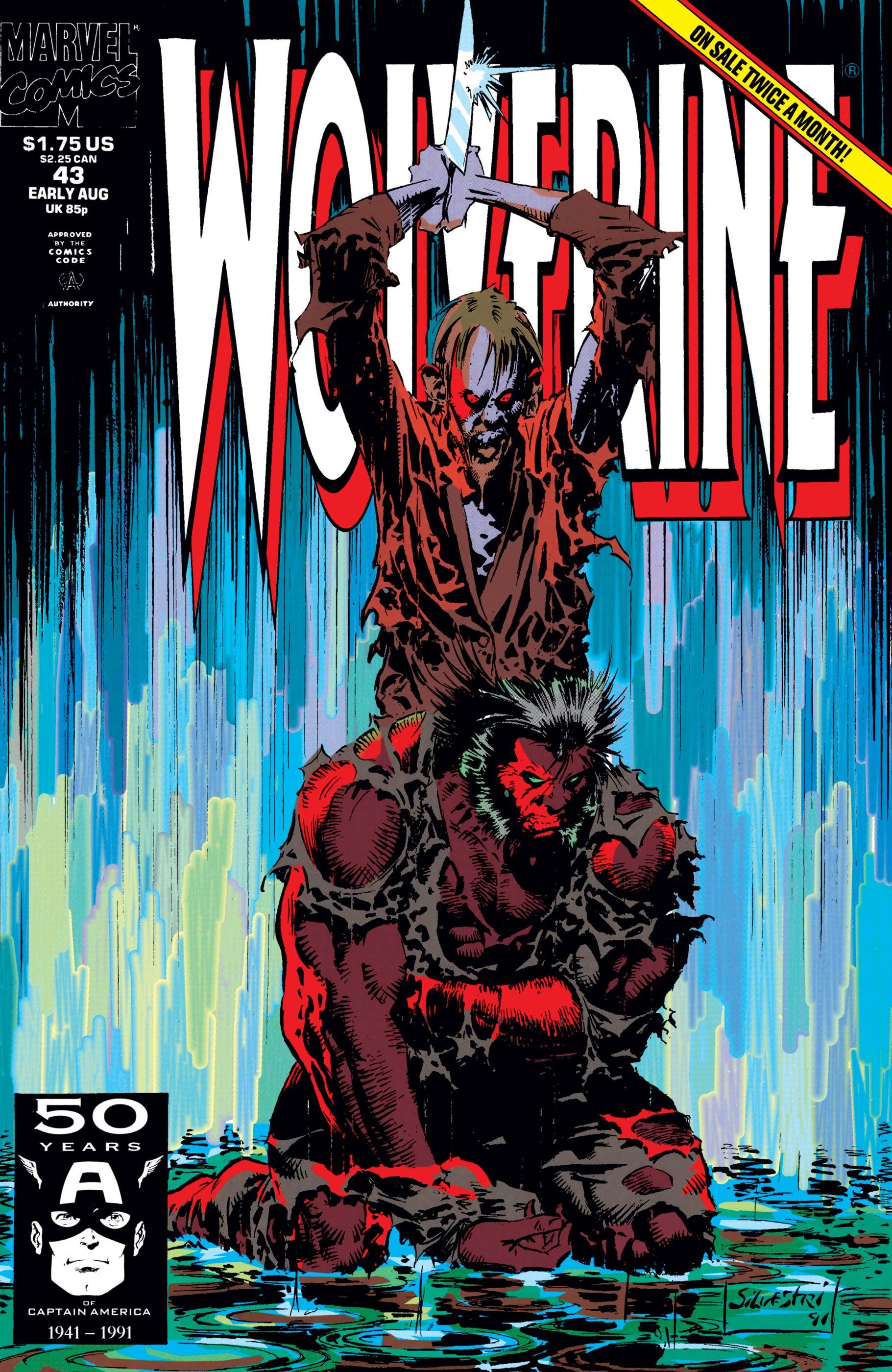 Wolverine (1988) #43