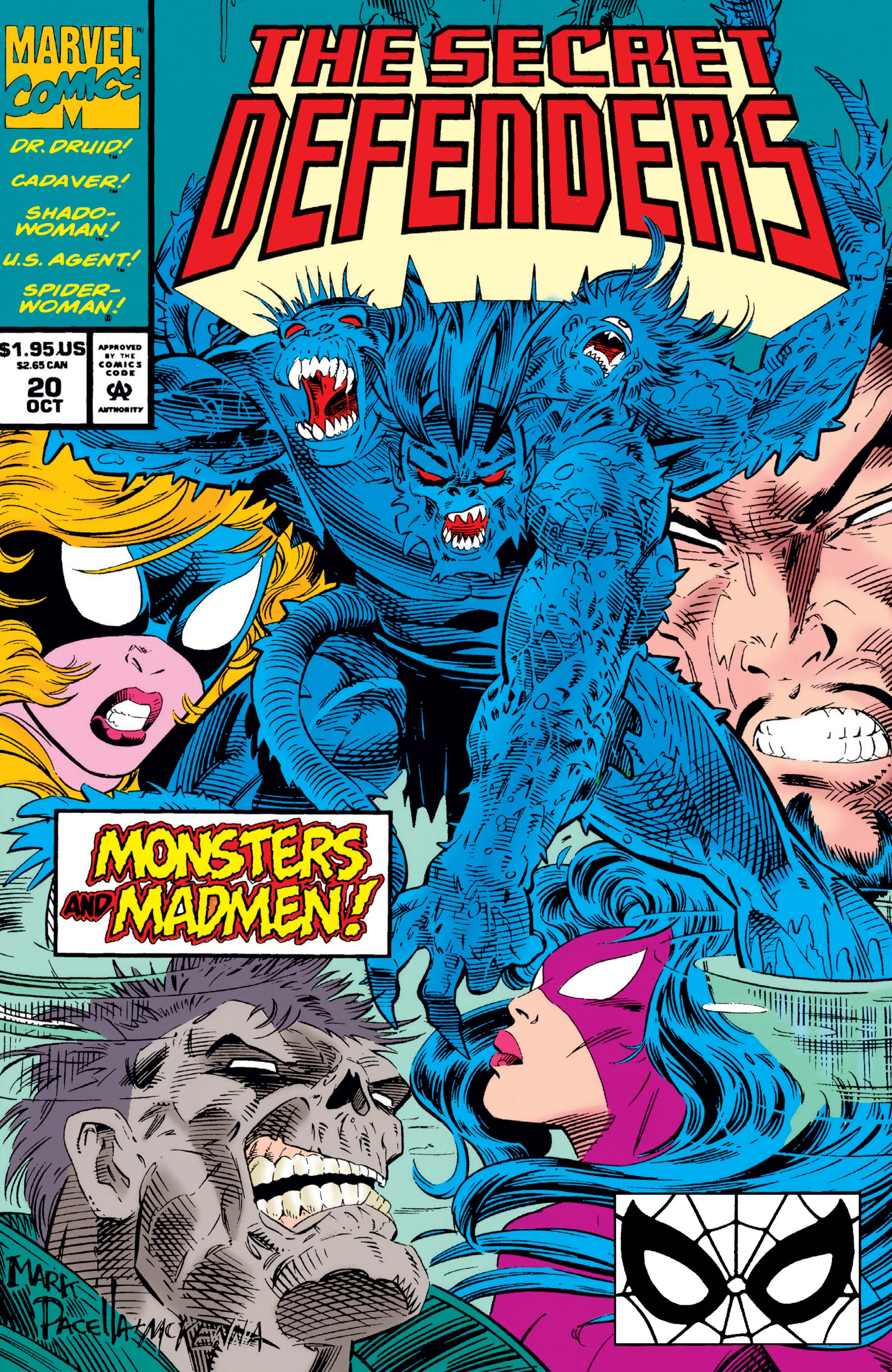 Secret Defenders (1993) #20