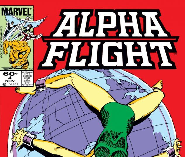 Alpha Flight (1983) #4