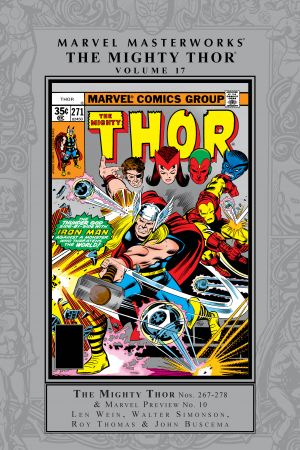 Marvel Masterworks: The Mighty Thor Vol. 17 (Hardcover)
