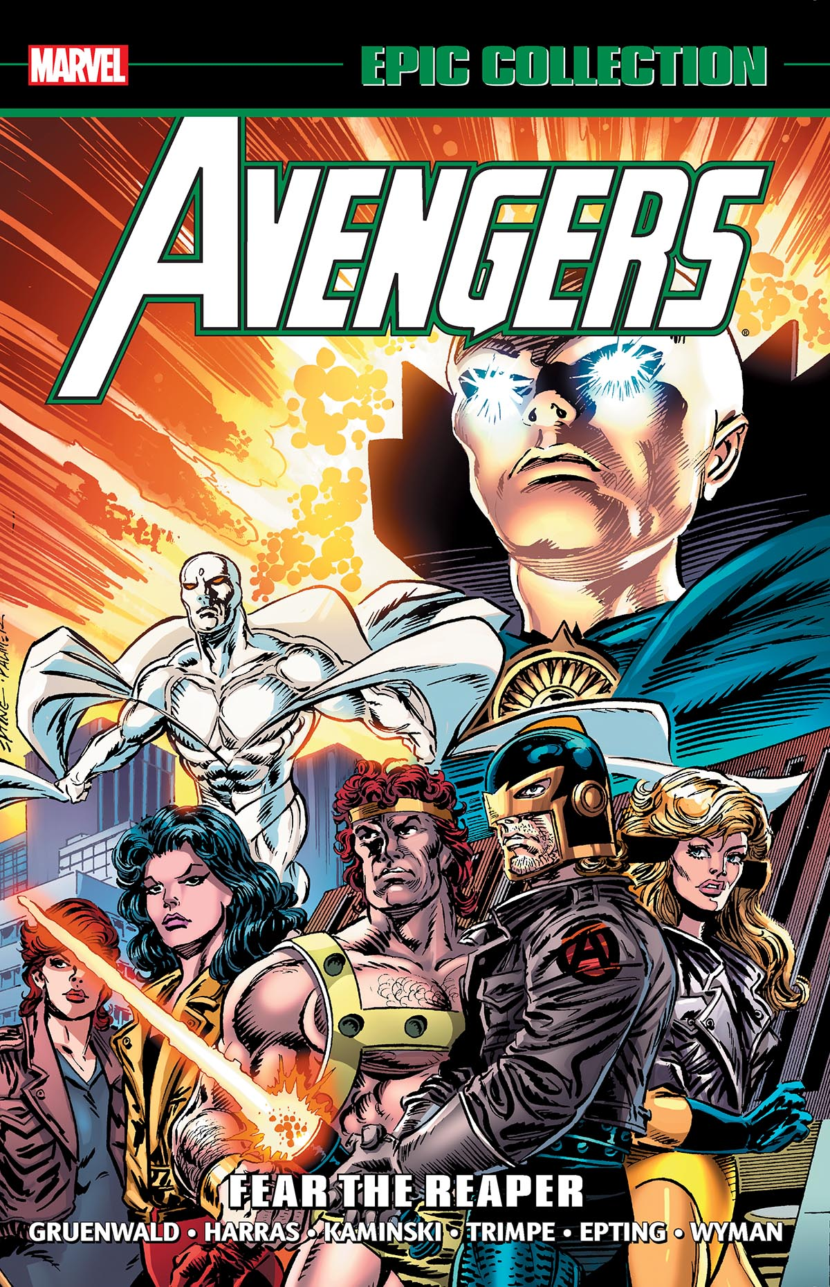 Avengers Epic Collection: Fear The Reaper (Trade Paperback)