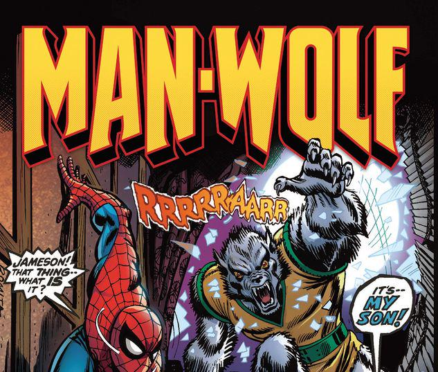 MAN-WOLF: THE COMPLETE COLLECTION TPB #1