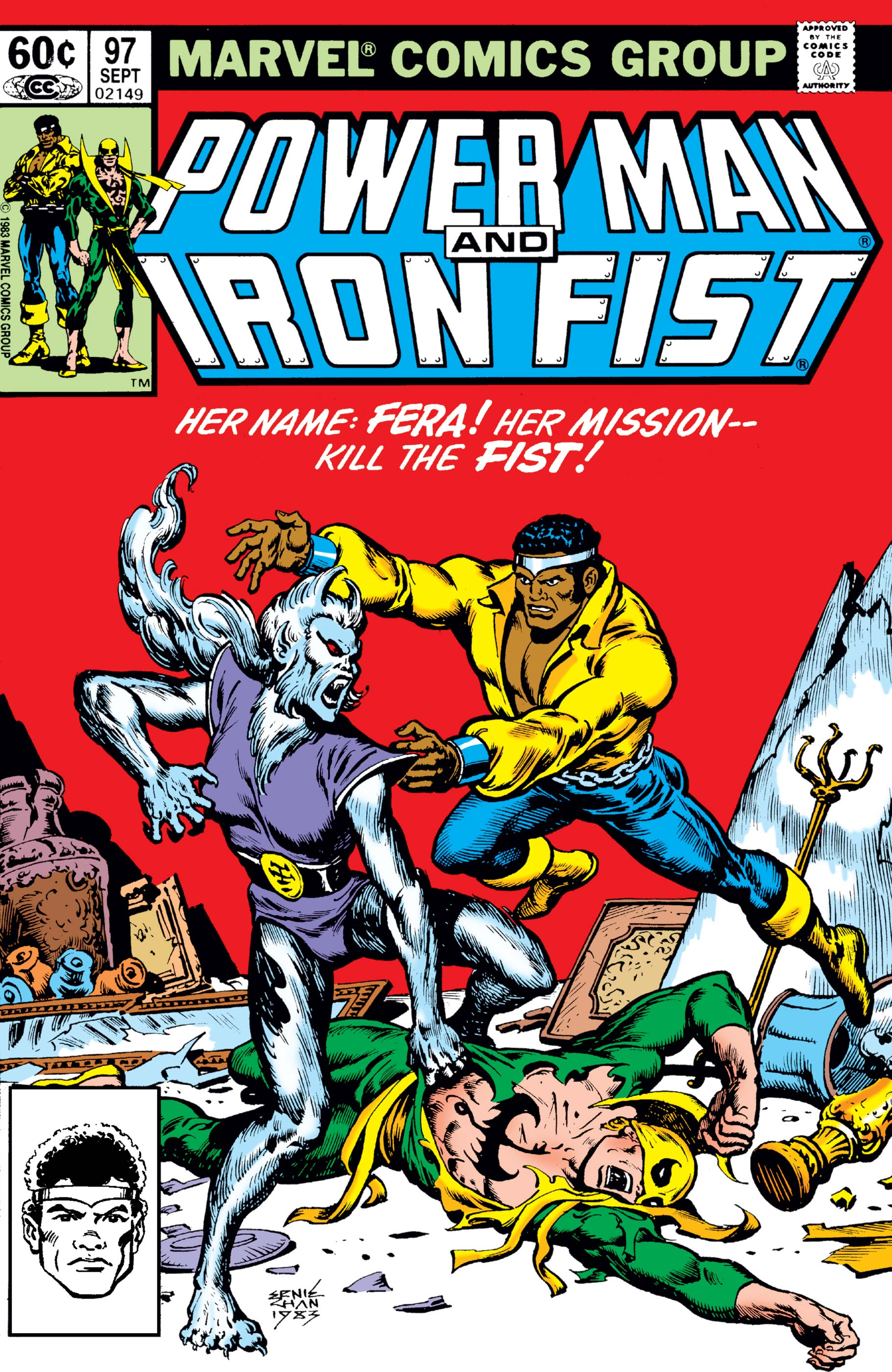 Power Man and Iron Fist (1978) #97