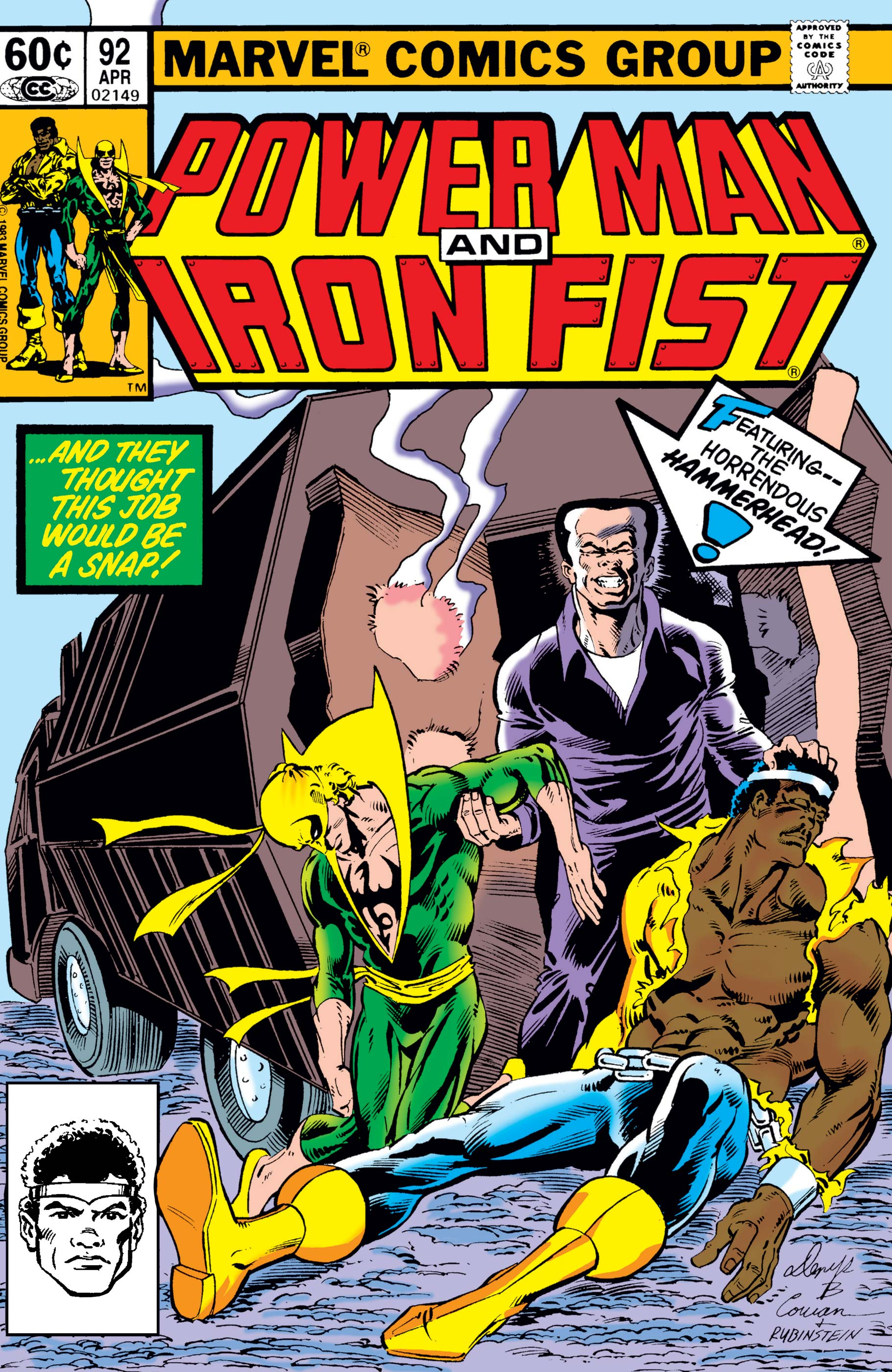 Power Man and Iron Fist (1978) #92