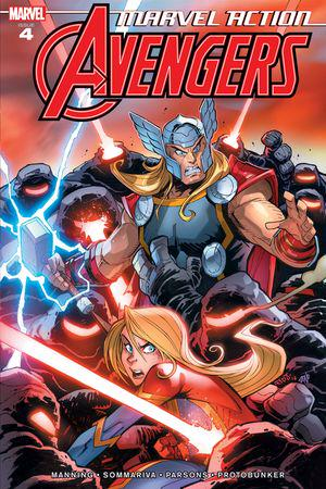 Marvel Action Avengers #4