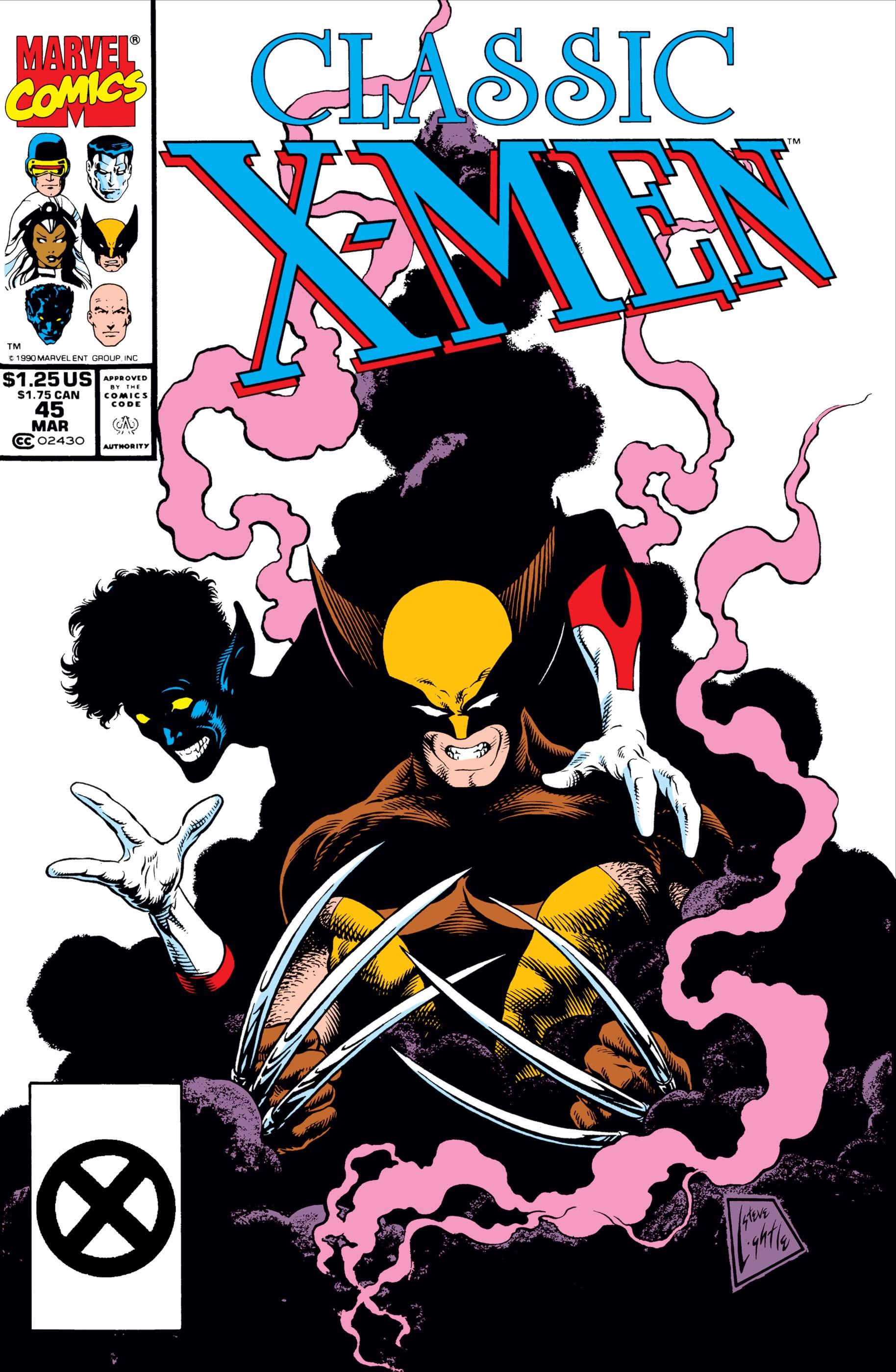 Classic X-Men (1986) #45