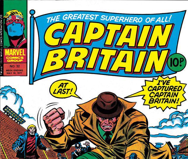 Captain Britain #32